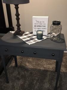 Auntie Linda's desk I repainted.